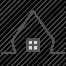 dream, fantasy, house, modern, small icon
