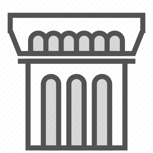 ancient, building, construction, museum, old icon