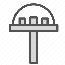 building, construction, future, house, modern, sky icon