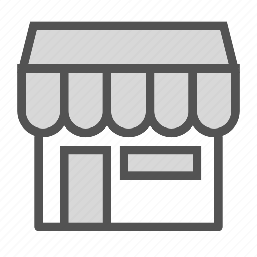 construction, shop, small, store icon