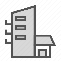 apartment, building, construction, home, house, storey icon