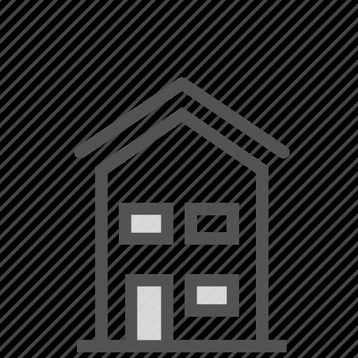 building, construction, home, house, villa icon