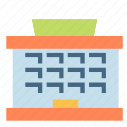 building, company, construction, office icon
