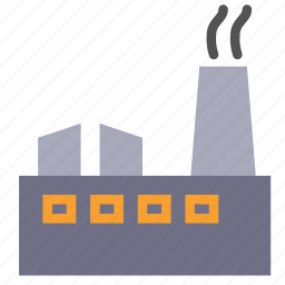 building, company, construction, factory, production icon