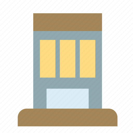 apartment, building, construction, house, modern icon