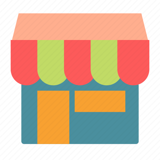 construction, shop, small, store icon