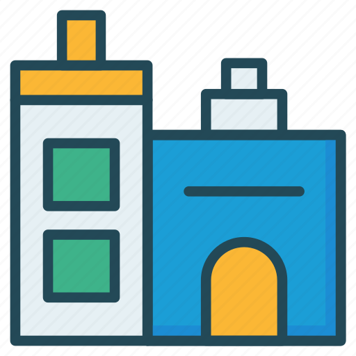 building, home, property icon
