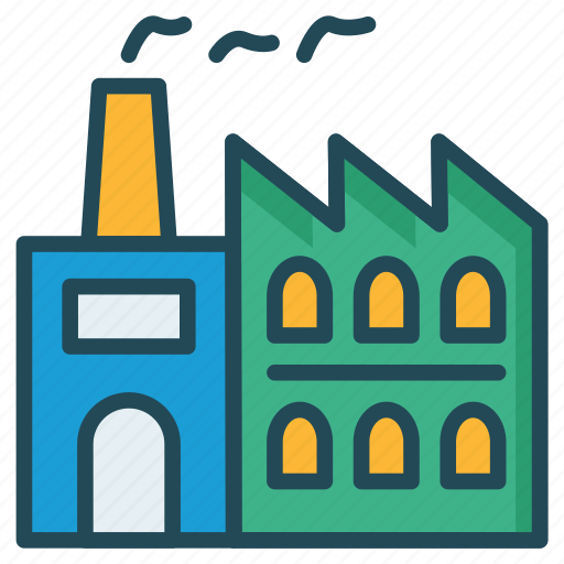 Building, factory, industry icon - Download on Iconfinder
