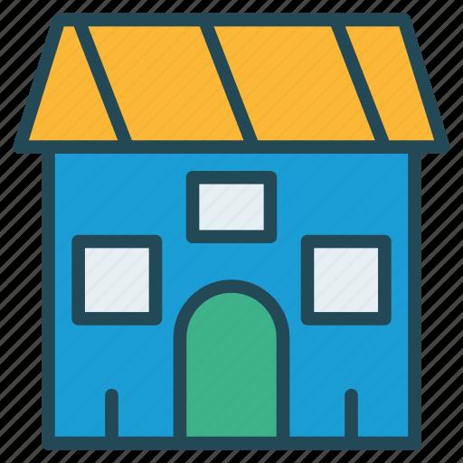 building, shop, store icon