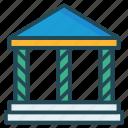bank, building, judicial