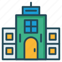 apartment, building, hostel icon
