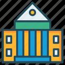 bank, judicial, realestate icon