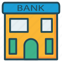 bank, property, real icon