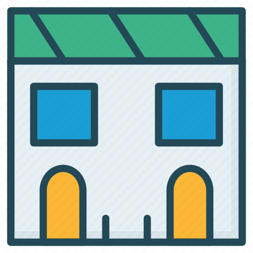apartment, building, property icon