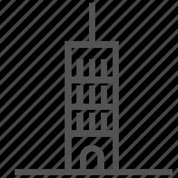 apartment, building, construction, skyscraper icon