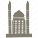 building, city, home, tomb icon