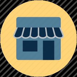 boutique, cafe, market, shop, store, workshop icon