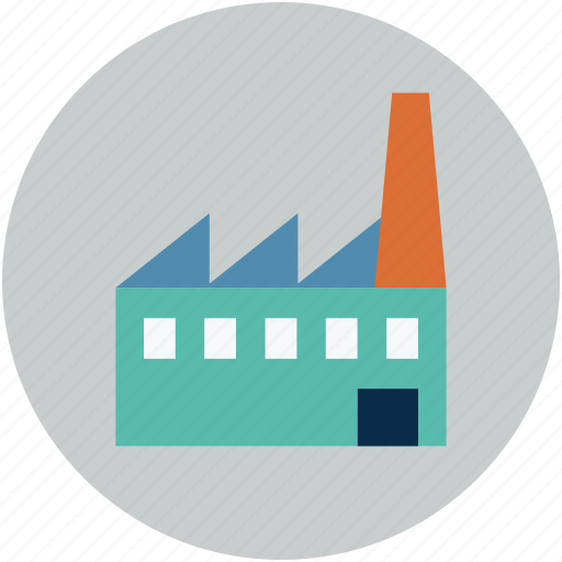building, factory, industry, mill, plant icon