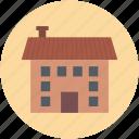 building, home, house, hut, shack, villa