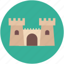 building, castle, tower, fortress, citadel