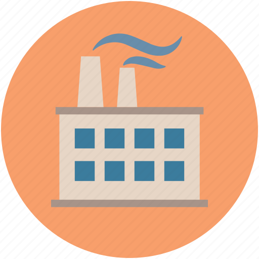 factory, industrial building, industry, mill, plant icon