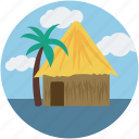 home, house, rural home, village house, village hut icon