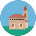 church, religious building, shrine, tabernacle icon