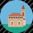 church, religious building, shrine, tabernacle icon