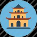 building, house of worship, pagoda, place of worship, shrine, synagogue