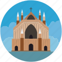 building, historic, landmark, memorial, monument icon