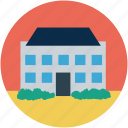 barn, building, farm house, silo, storehouse icon