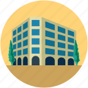 building, commercial building, commercial centre, modern building, shopping mall icon