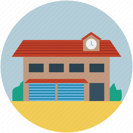book bank, building, library, storage, study icon