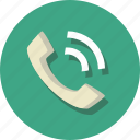 call, communication, interaction, log, phone, reply, talk icon