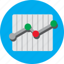 analysis, chart, data, growth, sales, statistics, trend icon