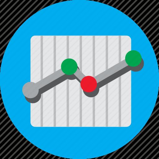 analysis, chart, data, growth, sales, statistics, trend icon