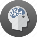 answers, education, knowledge, learn, query, question, trivia icon