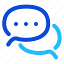 online, dialogue, chat icon