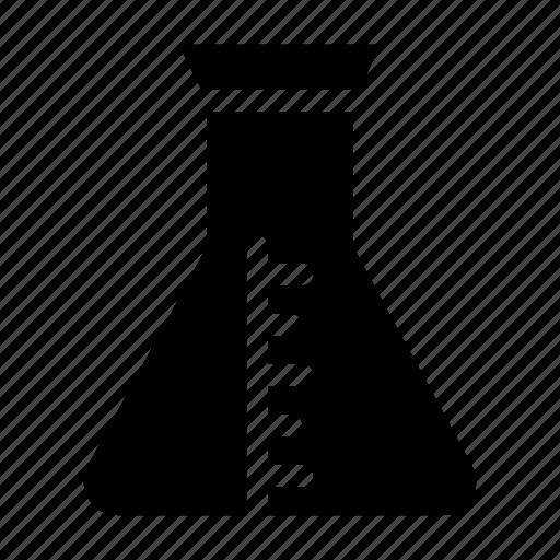 beaker, chemistry, erlenmeyer, flask, laboratory icon
