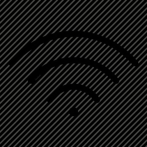 great, indicator, panel, signal, wifi icon