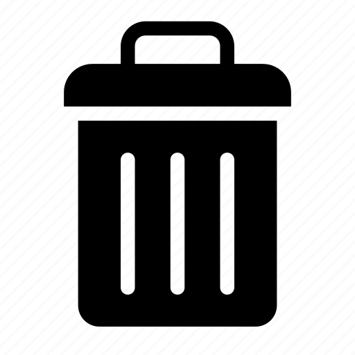 can, purge, remove, trash, useless icon