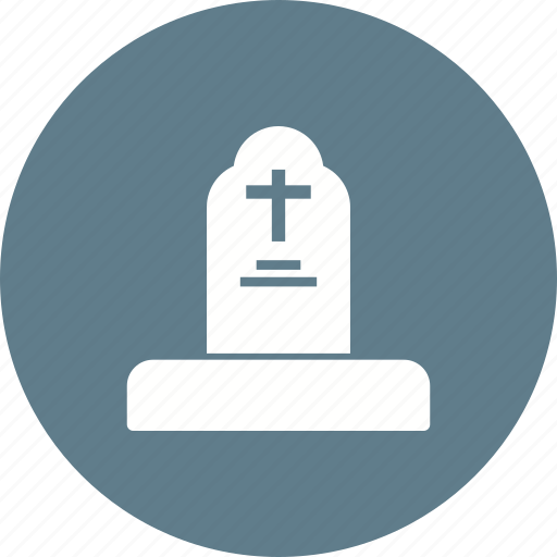 Ancient, graveyard, cemetery, cross, death, tombstone, grave icon