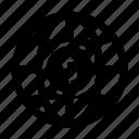 dollar, globe, international, usd icon