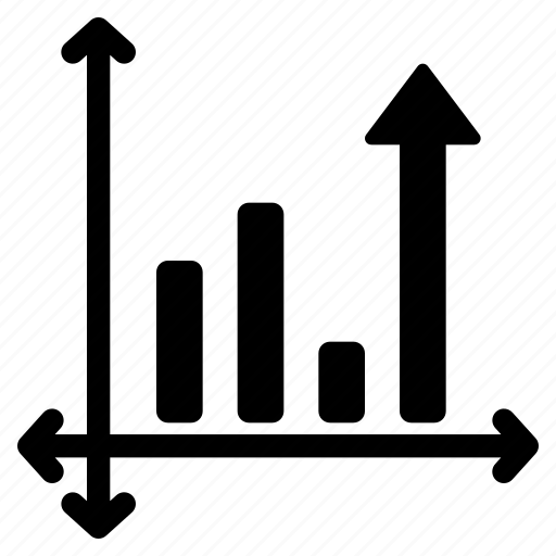 business, chart, graph, growth icon