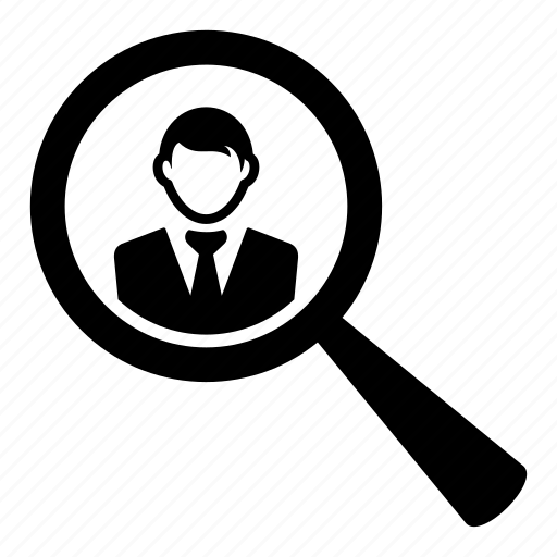 find, man, person, search, user icon