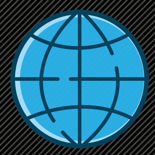 browser, earth, global, global business, globe, internet, world icon