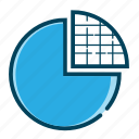 analysis, analytics, business chart, chart, graph, pie, pie chart icon