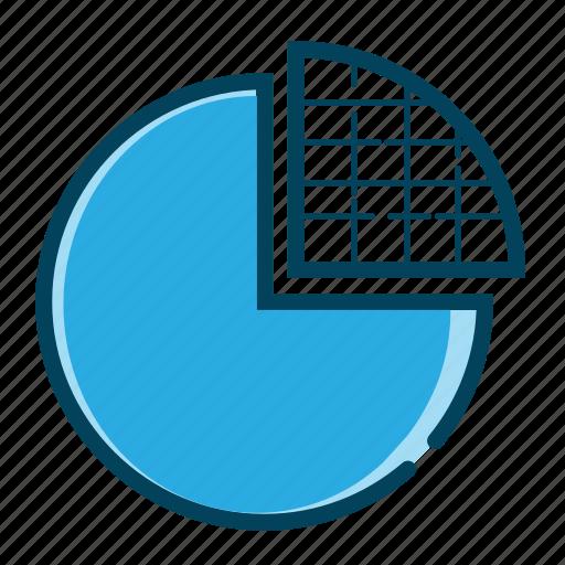 analysis, analytics, business chart, chart, graph, pie, pie chart icon