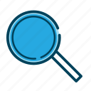 glass, magnifying, magnifying glass, search, seo, view, zoom icon