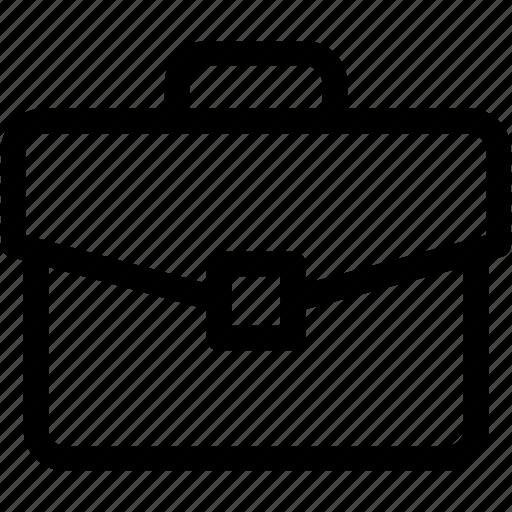 bag, briefcase, business, documents, luggage, office case, portfolio icon
